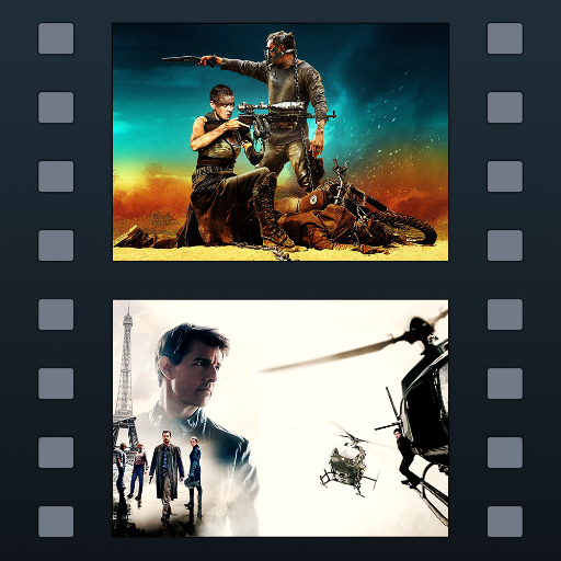 Movie Genre Icons - Filmstrip HD - coloured