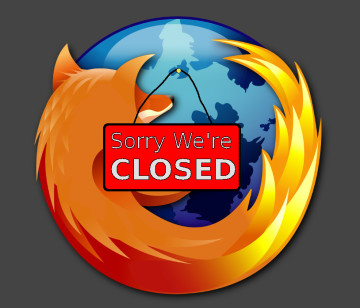 Firefox closed source