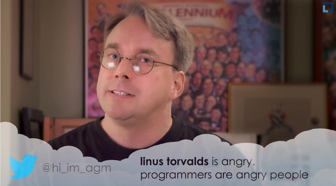 Linus answers tweets