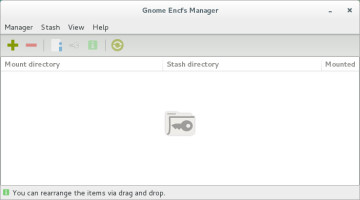 Gnome Encfs Manager