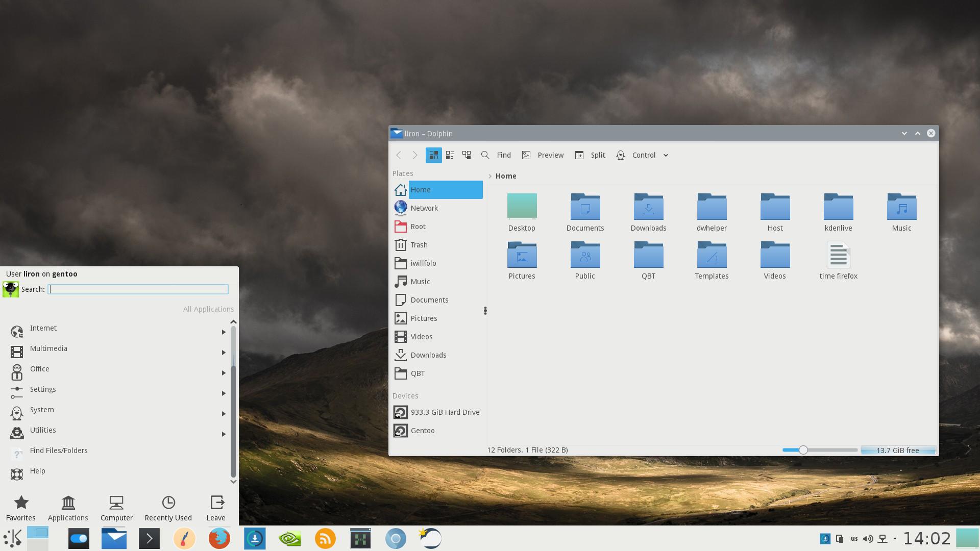 KDE 4 Plasma 5 looks