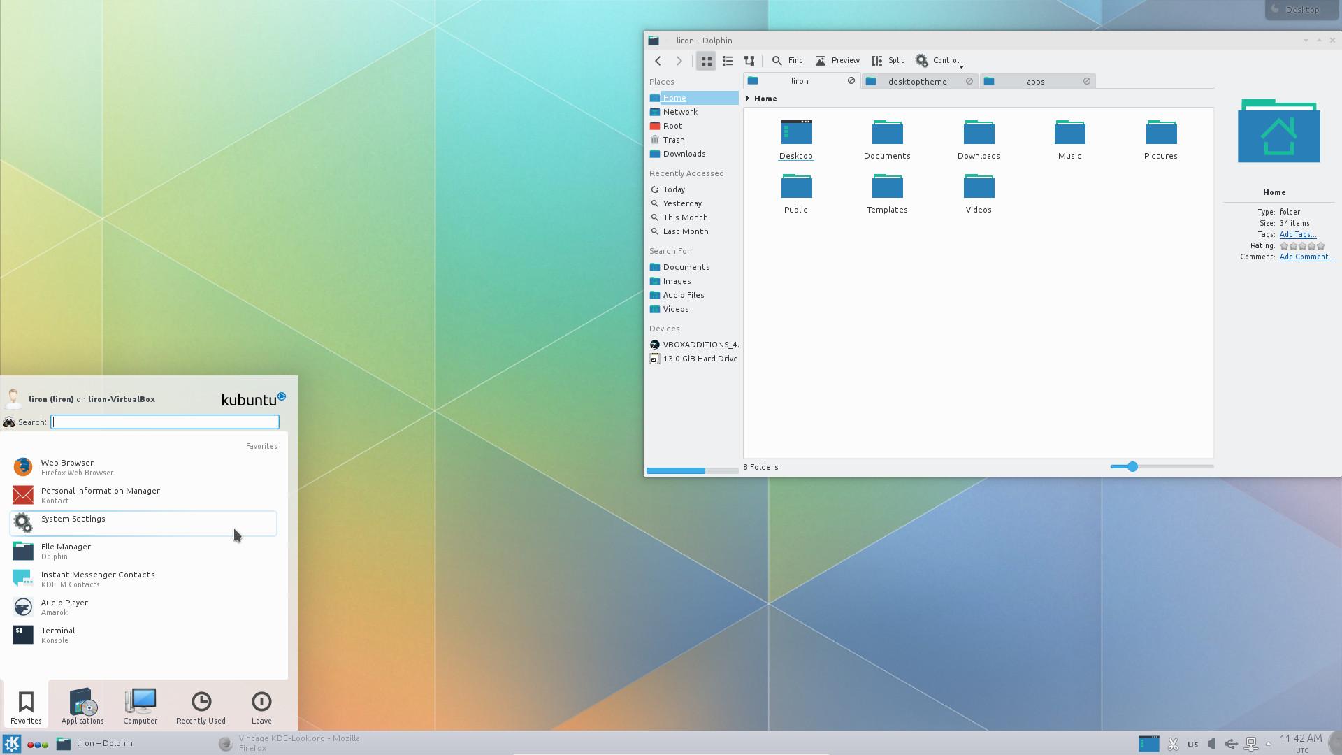 Give your KDE a Plasma 5 Looks Based On Breeze Free