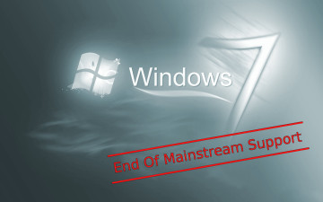 Windows 7 End of mainstream support