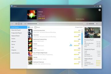 KDE Music player