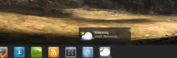 KDE tooltip flickering