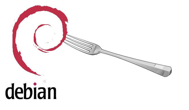Debian be forked
