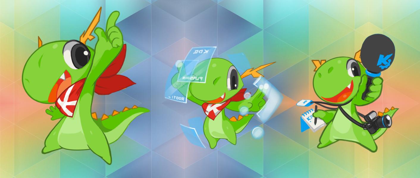 KDE 5 Konqis