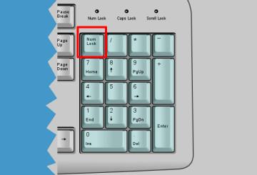 Numlock Numeric Keypad