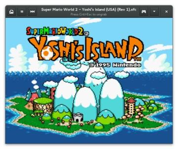 Retro Super-Mario Yoshi