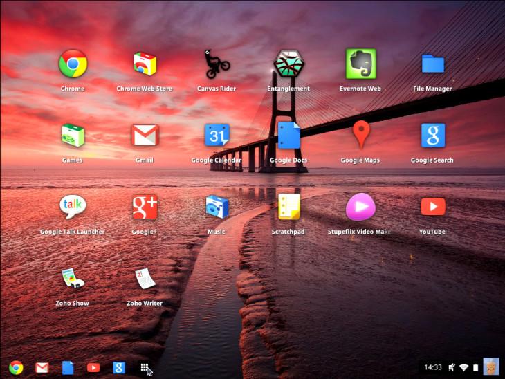 Chrome OS freon