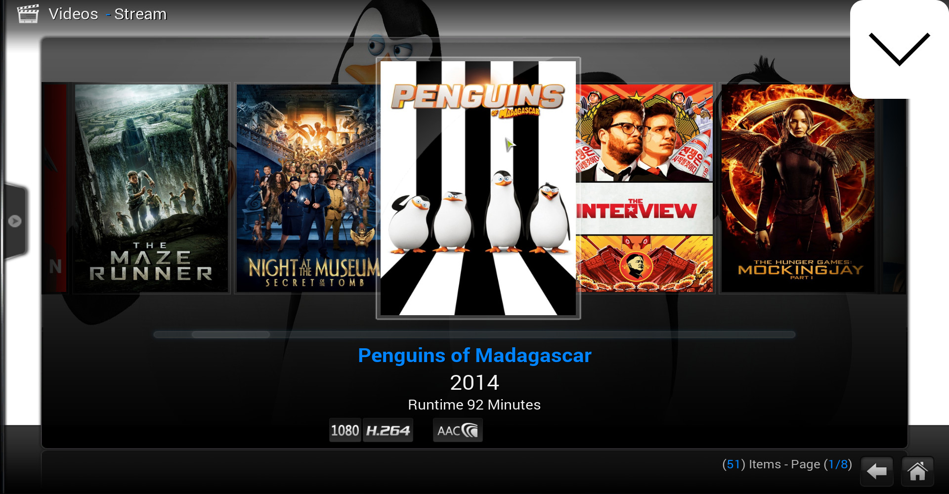Watch HD-Quality Movies / TV-shows With 'Stream' Add-on For Kodi