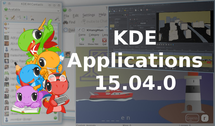 KDe applications 15.04.0