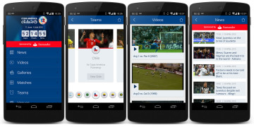 Copa America 2015 app