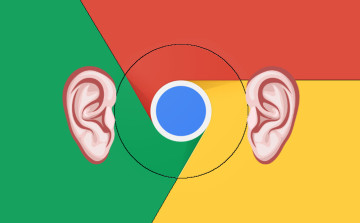 Google Chrome hears you