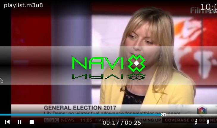 Navi-x screenshot