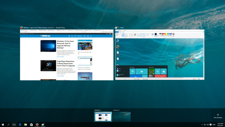 Win 10 windows overview