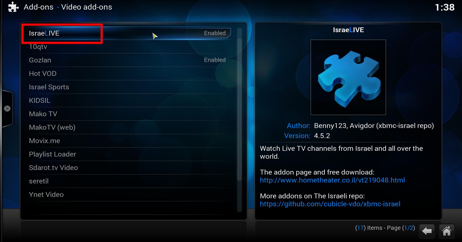 how to watch live news on kodi