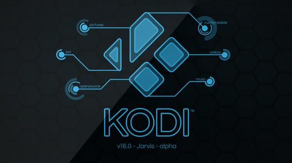 Kodi 16 alpha Jarvis