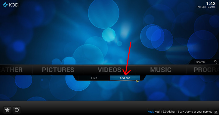 Videos > video add-ons