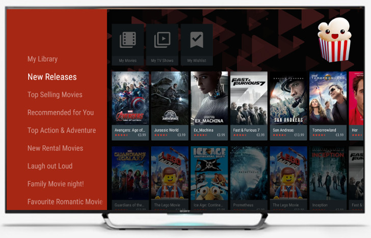 Popcorn Time for Android TV