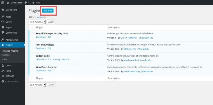 BID plugins add new
