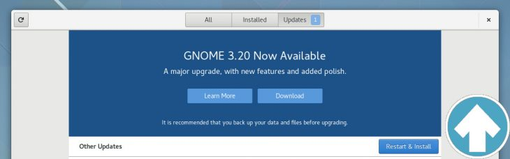 GNOME 3.20 OS upgrades