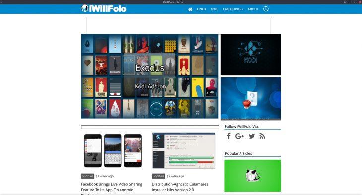Servo - running iWillFolo