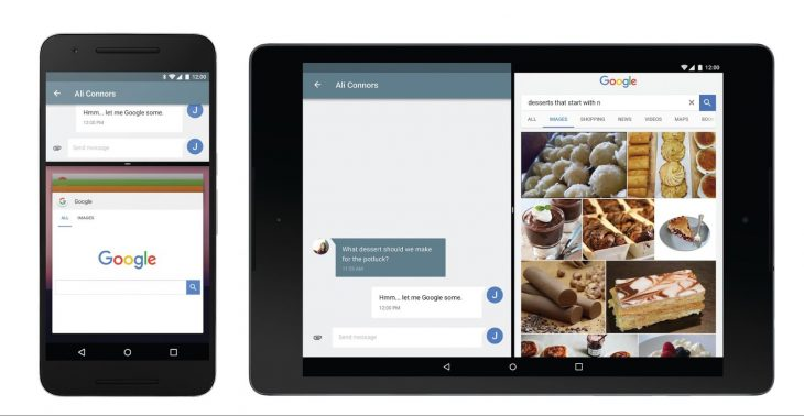 Android N multi-window mode