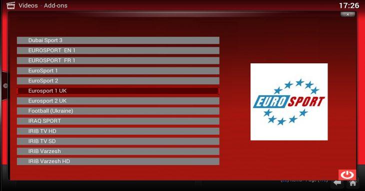 Euro 2016: Sports Mix simplistic interface