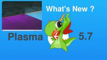 KDE Plasma 5.7 Beta