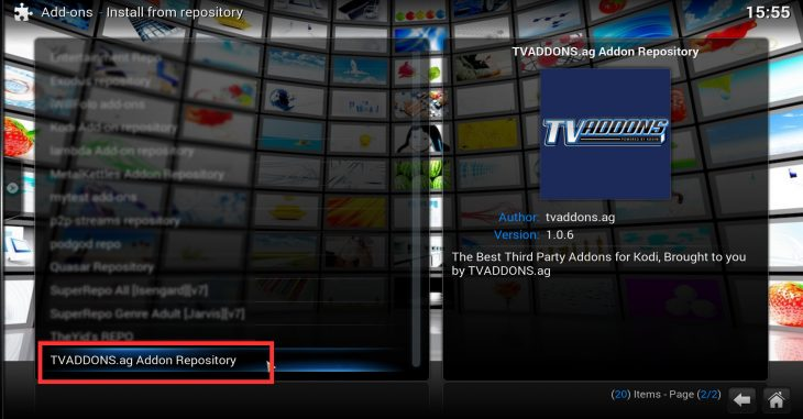 TVaddons repository