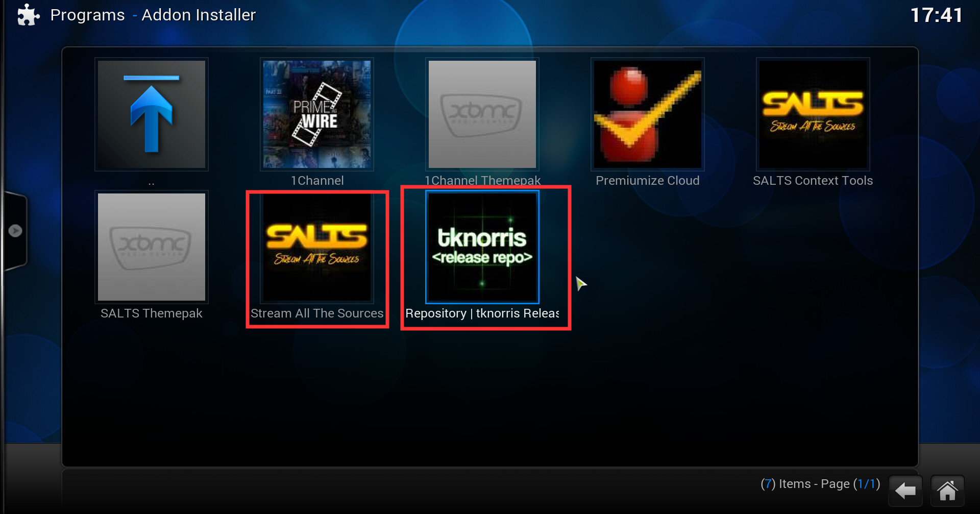 How To Install SALTS - Stream All The Sources Kodi Addon? - page 2 ...