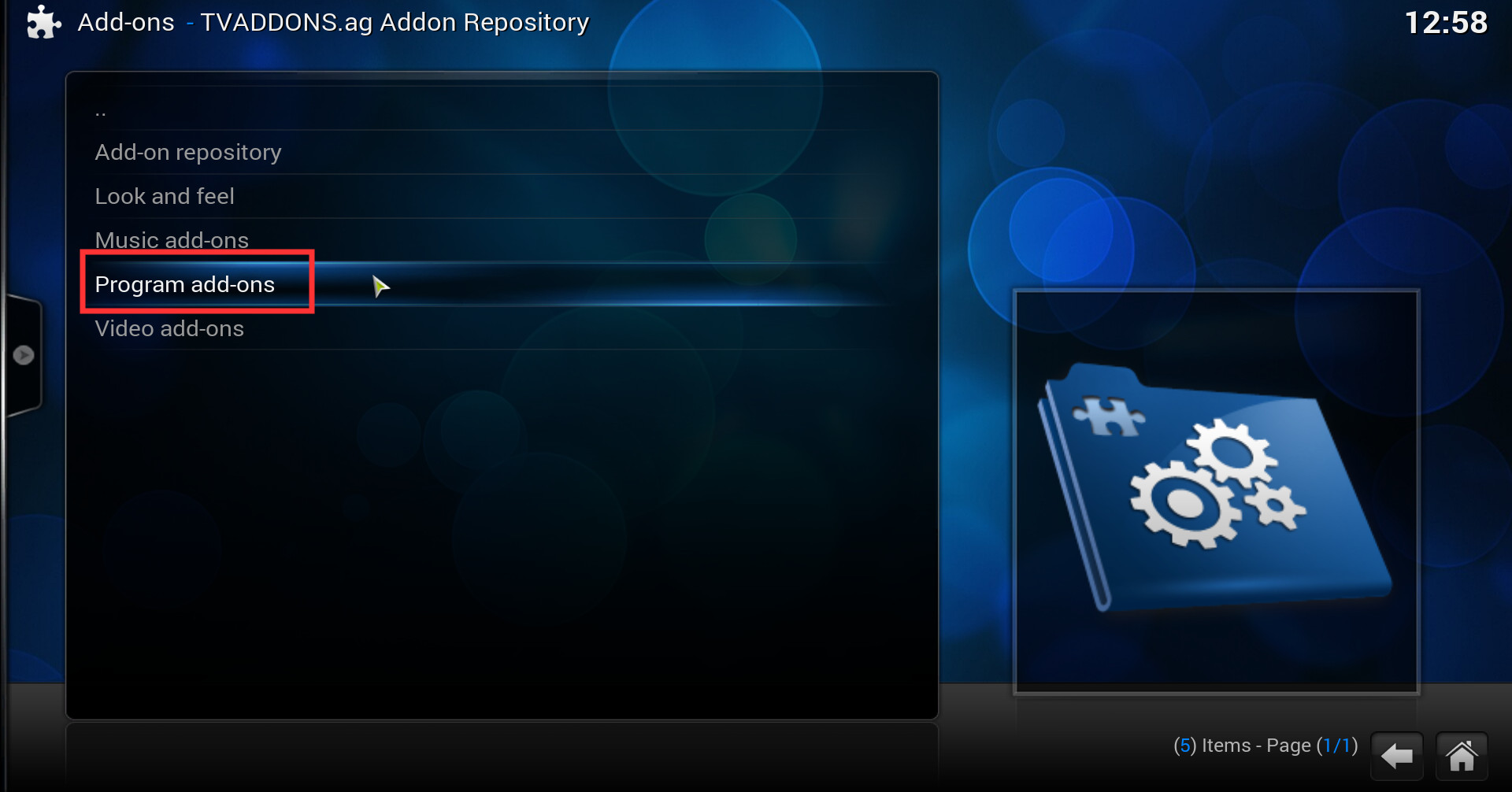 how to get addons for kodi app