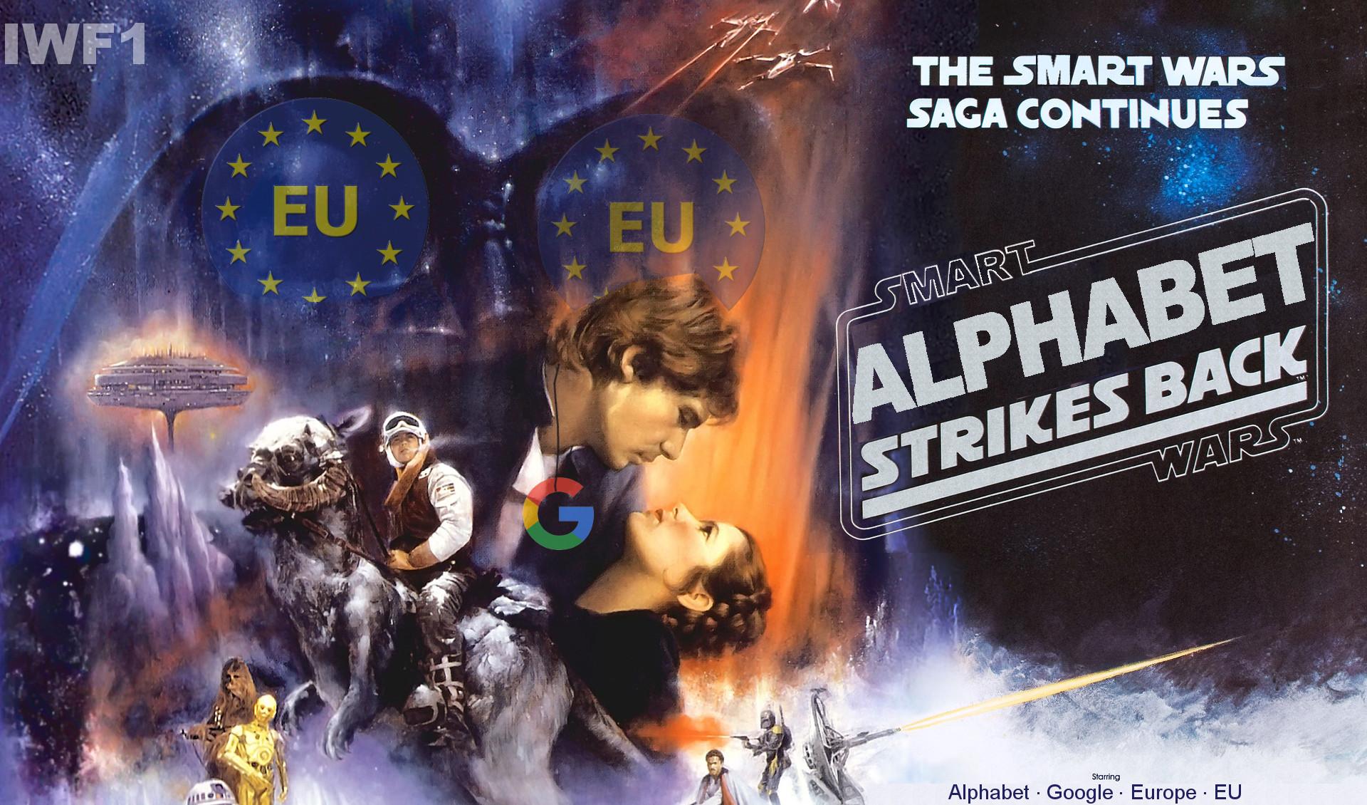 Google VS EU: Alphabet strikes back