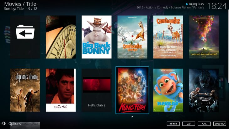 Kodi v17 Estuary_ng movies