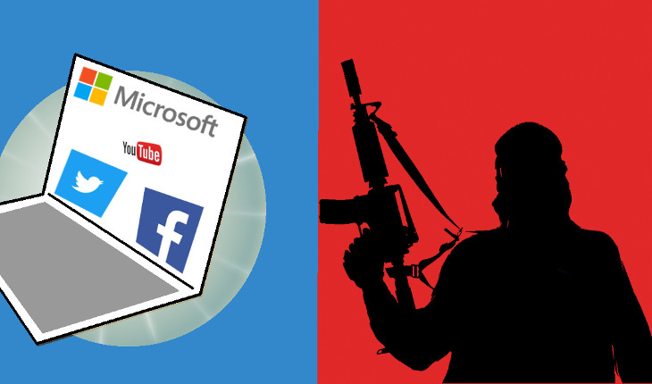 Facebook, Microsoft, Twitter & YouTube Vs Terror