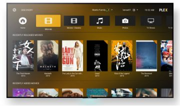 Plex add-on for Kodi