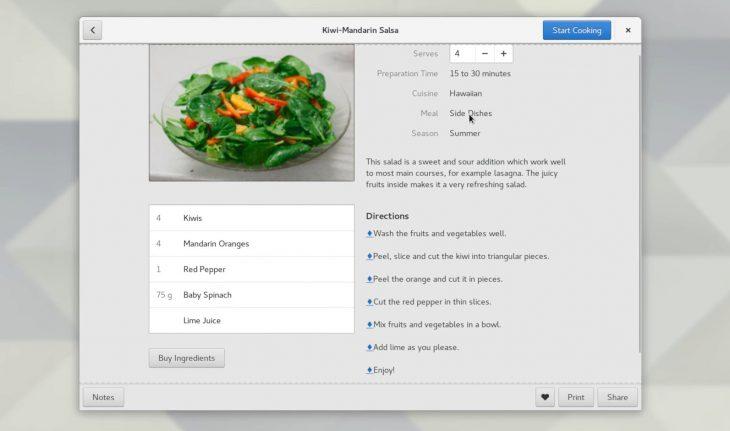 GNOME Recipes