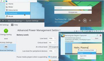 KDE Plasma 5.10 introduces new features
