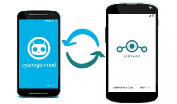Migrate from CyanogenMod to Lineage OS