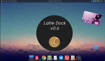 Latte Dock version 0.6.0