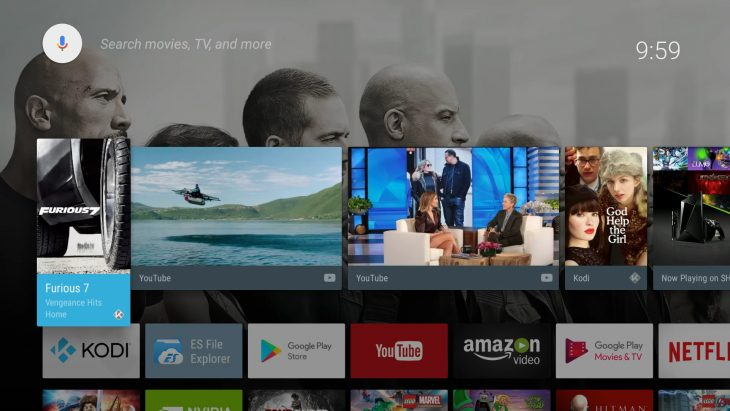 Kodi 18 integrates into Android TV
