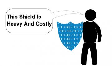 The cost of Web security