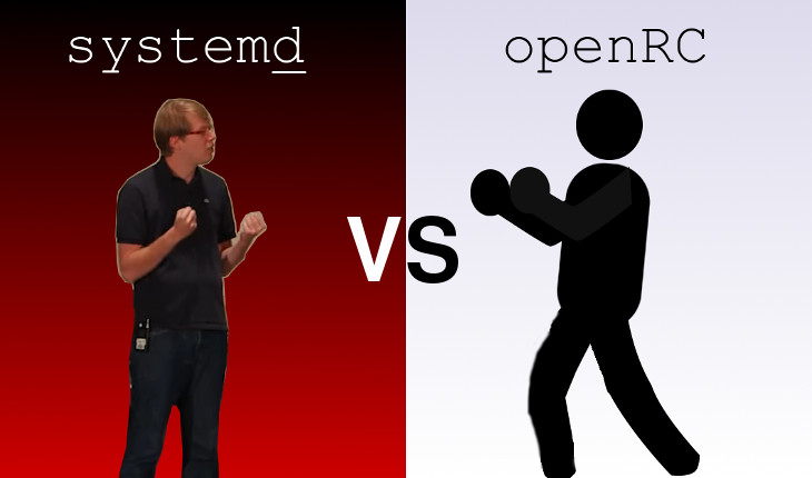 Systemd vs openRC