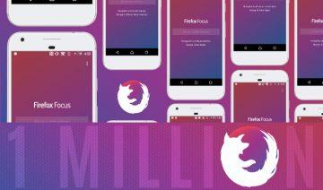 Firefox Focus crosses 1M downloads
