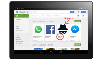 Lipizzan Spyware on Google Play