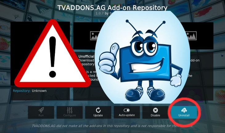 TVaddons security risk