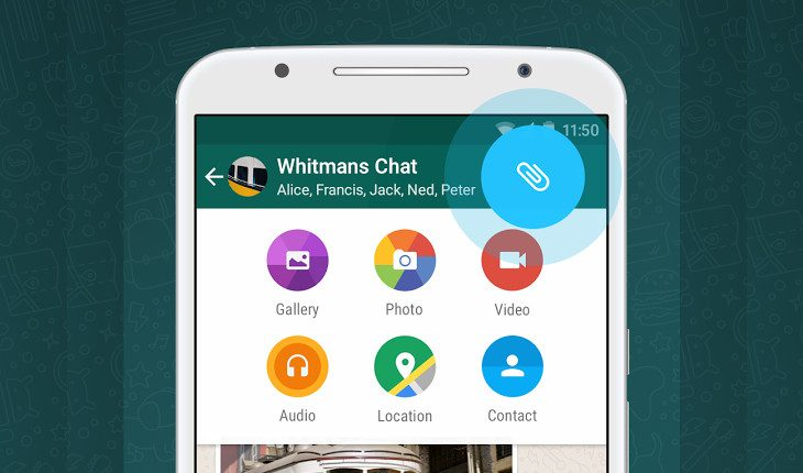 WhatsApp adds send any file type support
