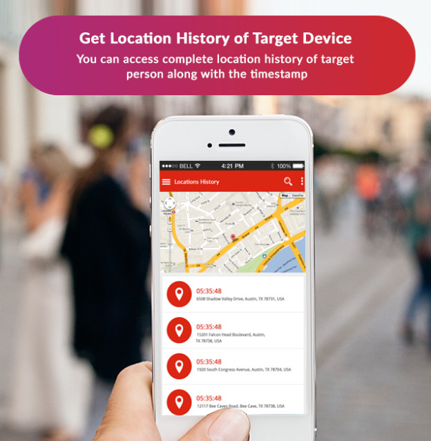 Xnspy: Get location history