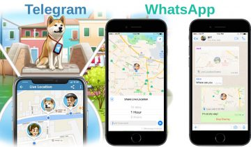 WhatsApp, Telegram: new live location feature